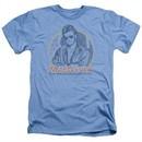 MacGyver Shirt Title Heather Light Blue T-Shirt