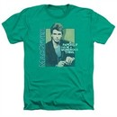 MacGyver Shirt Wonderous Paperclip Heather Kelly Green T-Shirt