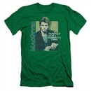 MacGyver Slim Fit Shirt Wonderous Paperclip Kelly Green T-Shirt