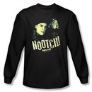 Mallrats T-shirt Movie Nootch Adult Black Long Sleeve Tee Shirt