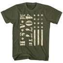 MASH Shirt Flag Military Green T-Shirt