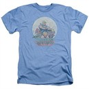 Masters Of The Universe Shirt He Man And Crew Adult Heather Light Blue Tee T-Shirt