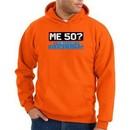 50th Birthday Hooded Hoodie Funny Me 50 Years Orange Hoody Sweatshirt
