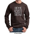 Mens An Eye for an Eye Sweatshirt