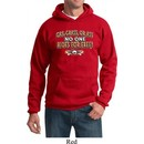 Mens Biker Hoodie Gas Grass Or Ass Hoody