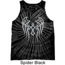 Mens Biker Shirt Cross Wings Tank Tie Dye Tee T-shirt