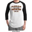 Mens Biker Shirt Gas Grass Or Ass Raglan Tee T-Shirt