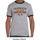 Mens Biker Shirt Gas Grass Or Ass Ringer Tee T-Shirt