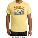 Mens Biker Shirt Smoke Em Organic Tee T-Shirt