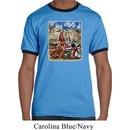 Mens Biker Shirt Sturgis Indian Ringer Tee T-Shirt