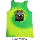 Mens Biker Shirt Who Let The Hawgs Out Tank Tie Dye Tee T-shirt