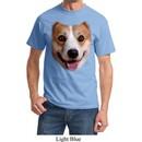 Mens Corgi Shirt Big Corgi Face Tee T-Shirt