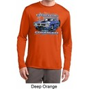 Mens Dodge Shirt Blue Dodge Charger Dry Wicking Long Sleeve T-Shirt