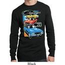 Mens Dodge Shirt Challenger Trio Long Sleeve Thermal Tee T-Shirt
