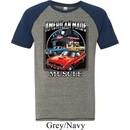 Mens Dodge Shirt Chrysler American Made Tri Blend Tee T-Shirt