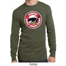 Mens Dodge Shirt Dodge Scat Pack Club Long Sleeve Thermal Tee T-Shirt