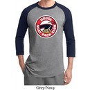 Mens Dodge Shirt Dodge Scat Pack Club Raglan Tee T-Shirt