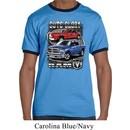 Mens Dodge Shirt Guts and Glory Ram Trucks Ringer Tee T-Shirt
