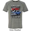 Mens Dodge Shirt Guts and Glory Ram Trucks Tri Blend Tee T-Shirt