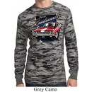 Mens Dodge Shirt Plymouth Roadrunner Long Sleeve Thermal Tee T-Shirt