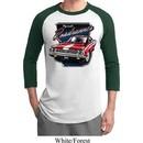 Mens Dodge Shirt Plymouth Roadrunner Raglan Tee T-Shirt