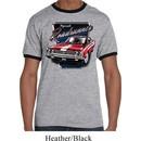 Mens Dodge Shirt Plymouth Roadrunner Ringer Tee T-Shirt