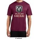 Mens Dodge Shirt Ram Hemi Logo Moisture Wicking Tee T-Shirt