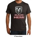 Mens Dodge Shirt Ram Hemi Logo Organic Tee T-Shirt