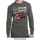 Mens Dodge Shirt Ram Trucks Long Sleeve Thermal Tee T-Shirt