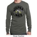 Mens Dodge Shirt Super Bee Long Sleeve Thermal Tee T-Shirt