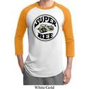 Mens Dodge Shirt Super Bee Raglan Tee T-Shirt