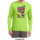 Mens Dodge Shirt Vintage Chargers Dry Wicking Long Sleeve Tee T-Shirt