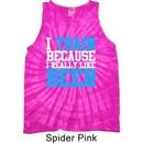 Mens Fitness Shirt I Train For Beer Tank Tie Dye Tee T-shirt