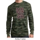 Mens Fitness Shirt Id Flex Long Sleeve Thermal Tee T-Shirt