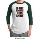Mens Fitness Shirt Id Flex Raglan Tee T-Shirt