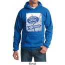 Mens Ford Hoodie Vintage Sign Genuine Ford Parts Hoody