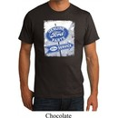 Mens Ford Shirt Vintage Sign Genuine Ford Parts Organic Tee T-Shirt