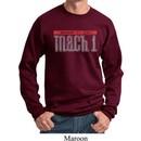 Mens Ford Sweatshirt 50 Years Mach 1 Sweat Shirt