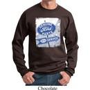Mens Ford Sweatshirt Vintage Sign Genuine Ford Parts Sweat Shirt