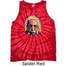Mens Funny Shirt Albert Einstein Tank Tie Dye Tee T-shirt