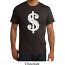 Mens Funny Shirt Distressed Dollar Sign Organic Tee T-Shirt