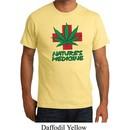 Mens Funny Shirt Natures Medicine Organic Tee T-Shirt