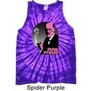 Mens Funny Shirt Pink Freud Tank Tie Dye Tee T-shirt