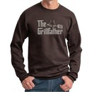 Mens Funny Sweatshirt The Grill Father Sweat Shirt