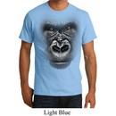 Mens Gorilla Shirt Big Gorilla Face Organic T-Shirt