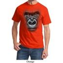 Mens Gorilla Shirt Big Gorilla Face Tee T-Shirt