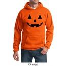 Mens Halloween Hoodie Black Jack O Lantern Hoody