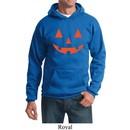 Mens Halloween Hoodie Orange Jack O Lantern Hoody