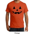 Mens Halloween Shirt Black Jack O Lantern Organic Tee T-Shirt