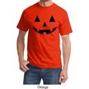 Mens Halloween Shirt Black Jack O Lantern Tee T-Shirt